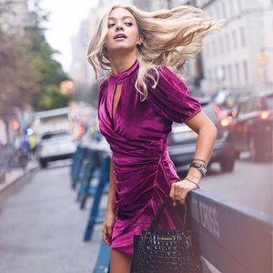 Parker Artie Velvet Dress, size 6